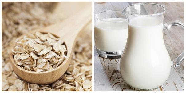 Tắm Trắng Bằng Yến Mạch Và Sữa Tươi